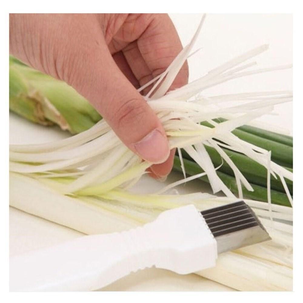 Facemile Onion Shredder Slicer Onion knife Vegetable Cutter Cut Kitchen Gadget tools 06066