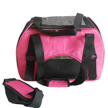 Folding Pet Carry Bag Oxford Breathable Mesh Cat Carriers Outside Portable Dog Travel Waterproof