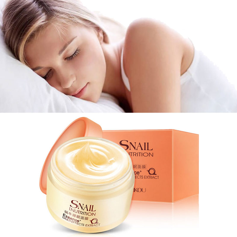 Snail Whitening Firm Facial Mask Cream Face Care Fade Dark Spots Treatment Skin Care Face MASK Anti Wrinkle Aging Moisturizing все цены