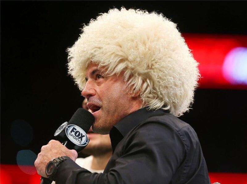Khabib Nurmagomedov Hat Papakha Caucasus Real Sheep Lamb Fur Hat MMA UFC Fighter