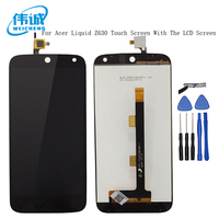 WEICHENG Top Quality LCD 5.5 inch For Acer Liquid Z630 Display + Touch Screen Panel Digitizer Glass assembly +tools