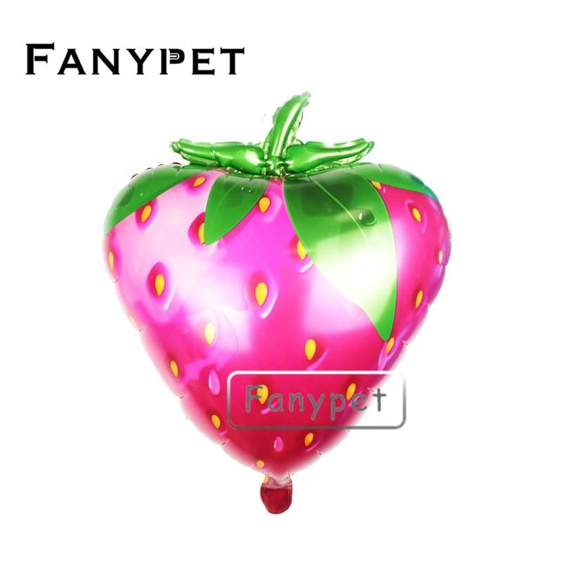 50pcs 72 58cm Strawberry Balloon Cartoon Foil Balloon Birthday Party Wedding Decoration Supplies Kids Classci Toy