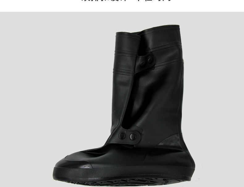 Aleafalling Bersepeda Penutup Sepatu Tahan Air Snowproof Hujan Sepatu Bot Hitam Dapat Digunakan Kembali Penutup Sepatu Pria Wanita Sepeda Covershoes Sepatu Boot