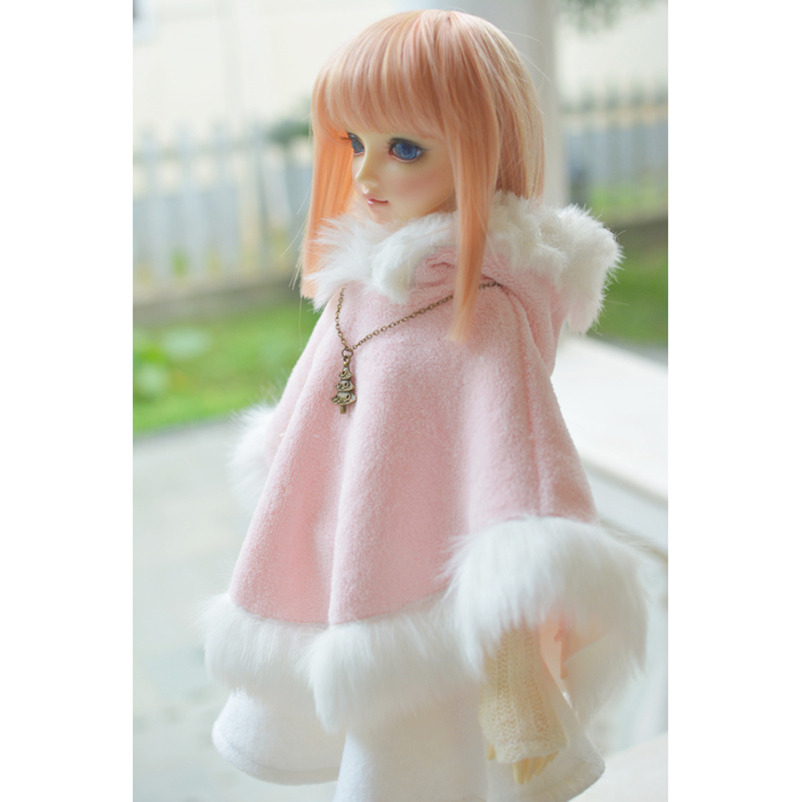 1//4 Pink  Sweater Outfits Top Clothes For Female 17in BJD MSD AOD LUTS DZ DOLL