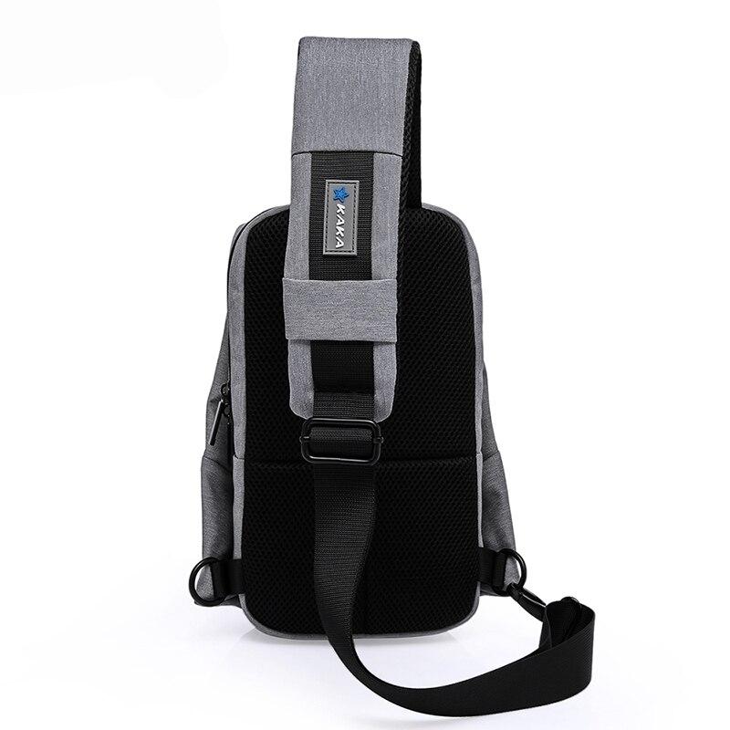 Mens Chest Pack Portable Shoulder Satchel Travel Sling Bag Shoulder  Messenger Bags Waterproof Men Women Crossbody Bag for Ipad 5d5a5ffcce4e