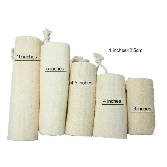 Natural Loofah Bath Sponge Body Scrub Exfoliation SPA Beauty Bath Sponge 3