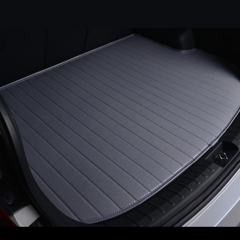 Special car trunk mats for Fiat All Models Ottimo 500 Panda Punto Linea Sedici Viaggio Bravo Freemont auto styling foot mats car storage net for bottles groceries storage add on for fiat viaggio bravo freemont fiat 500 palio