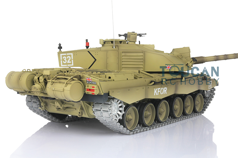 3d3e82472762 Henglong 1 16 Challenger II RC Tank Upgraded Metal Ver Airsoft Sound Smoke  3908-in RC Tanks from Toys   Hobbies on Aliexpress.com