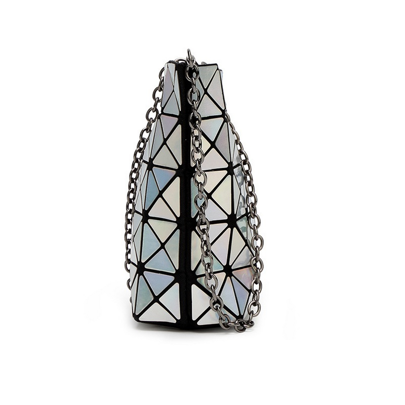 Diseñador Señora Cadena Diamond Lattice Bolsos Embragues del día - Bolsos - foto 4