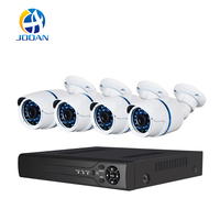 JOOAN 704NVR 4CH NVR Kit 720P POE Camera System HD Security IP Camera System CCTV Monitor