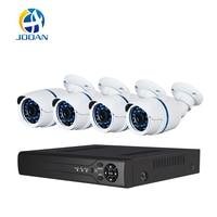 JOOAN 704NVR 4CH NVR Kit 720P POE Camera System HD Security IP Camera System CCTV Monitor