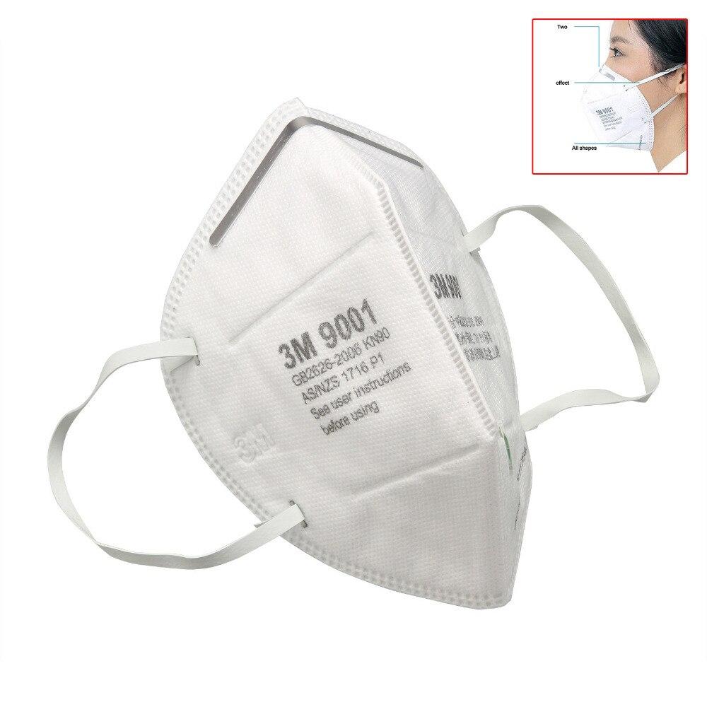 1 Stücke Pro 3 Mt Halbe Gesicht Dunst Schutz Maske Pm2.5 Folding Staub Schweren Metall Anti-staub Wir Haben Lob Von Kunden Gewonnen