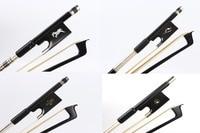 Yinfente Free Shipping 4/4 Violin Bow Carbon Fiber ,Violin Accessory Parts Pernambuco level ,Ebony Frog