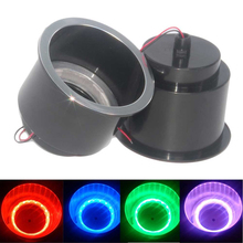 ABS Recessed Drinks Holder with RGB Light for Marine Boat Yacht RV Modified Vehicles