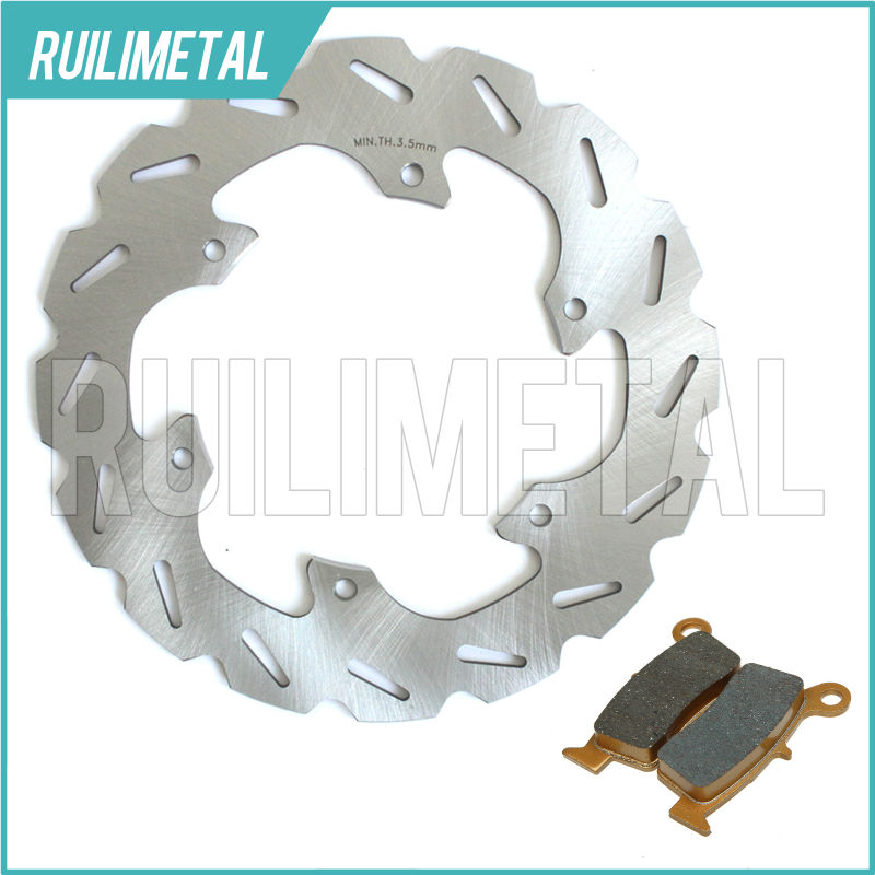MX Offroad New Rear Brake Disc Rotor Pads Set for SUZUKI RM 125 96 97 98 99 RM250 96-99 DRZ 400 E 00-08 DRZ400S 09 DRZ S 400 rear brake disc rotor for suzuki dr 650 se 96 12 k1 k2 k3 k4 k5 k6 k7 k8 k9 xf 650 freewind 97 98 99 00 01 02 03