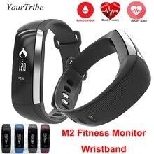 M2 Smart Band Приборы для измерения артериального давления наручные часы измеритель пульса Мониторы cardiaco Фитнес трекер SmartBand вызова/sms IOS Android браслет Ми