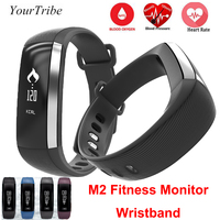 M2 Smart Band Blood Pressure Wrist Watch Pulse Meter Monitor Cardiaco Fitness Tracker Smartband Call/SMS iOS Android Bracelet Mi