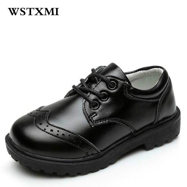 Kinder Mode Designer Echtem Leder Kleid Schuhe Fur Kleine Jungen