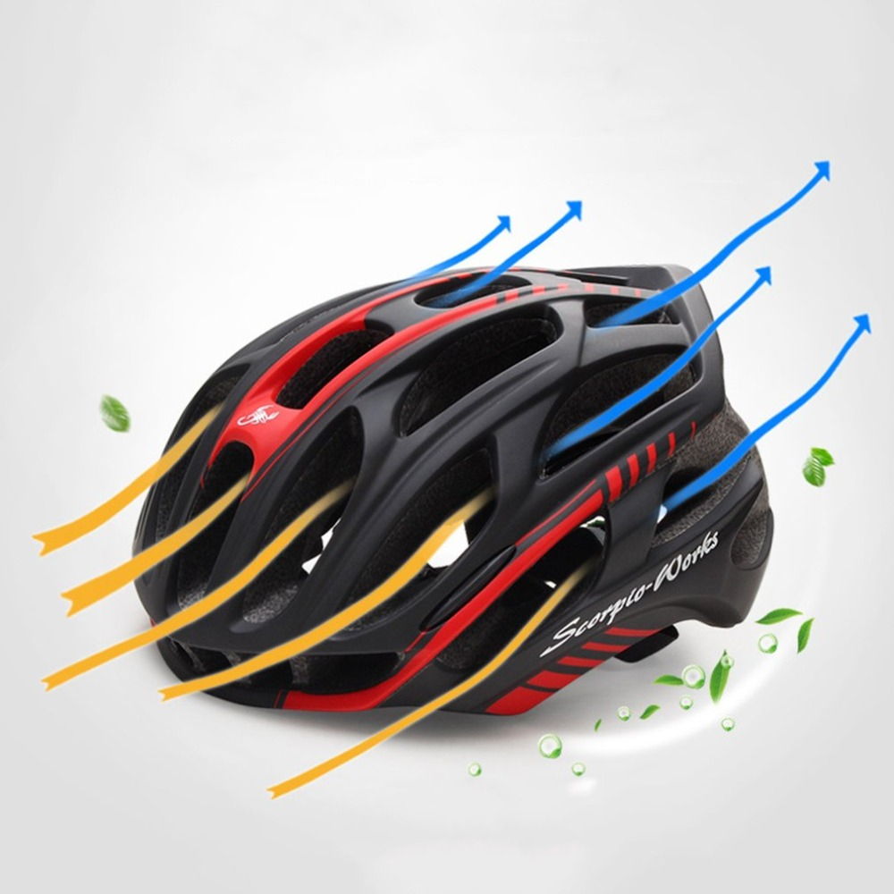 Ultra Lightweight Breathable Bicycle Cycling Helmet Professional MTB Sport Safety Racing Mountain Road Bike Helmet