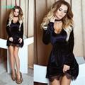 TAOVK 2016 новая мода Русский стиль Женщины Осень Синий одежда