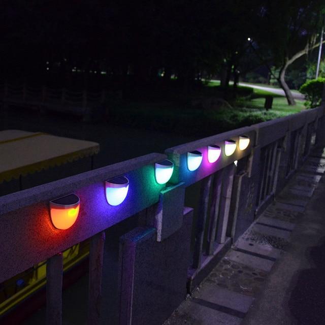 Coloré Lampe Solaire Jardin étanche Décoratif Mur Porche Lumi¨res