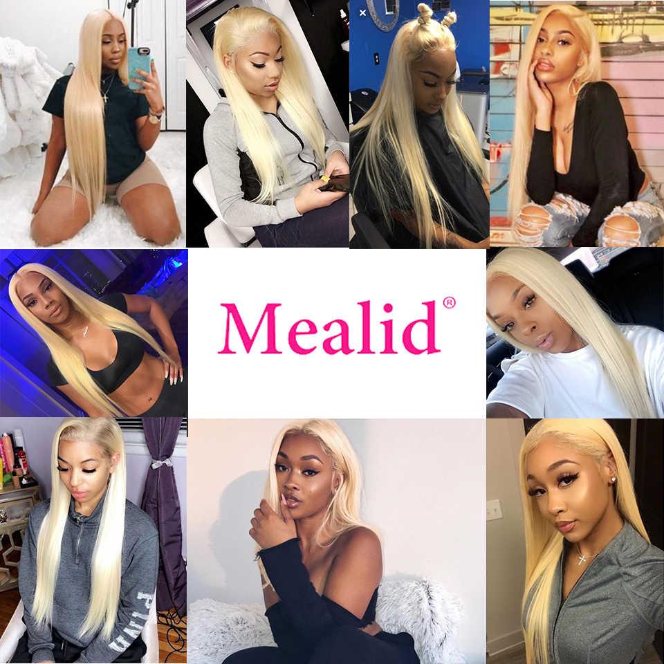 Lijmloze 613 Blonde Kant Voor Pruiken Remy Braziliaanse Steil Haar Kant Voor Menselijk Haar Pruiken 13X4 Pre Geplukt met Baby Haar 150%