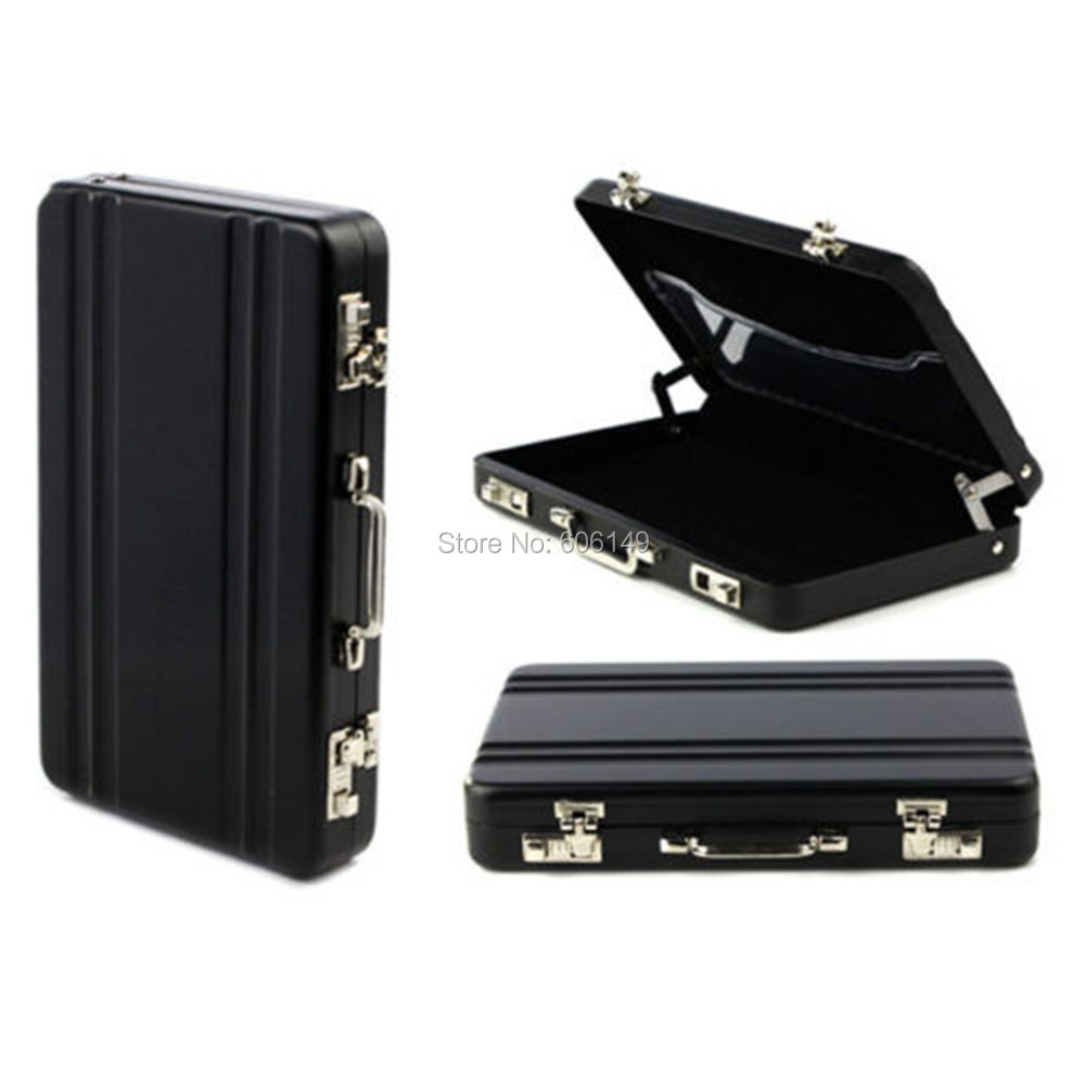 Metal Password Briefcase Business Card Bank Card ID Card Credit Card ...