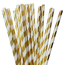 цены 750pcs Rose Pink Red Party Straw Foil Gold Chevron /Silver/Dot/Star Straws for Birthday Party/Wedding/Bridal Shower/ Baby Shower