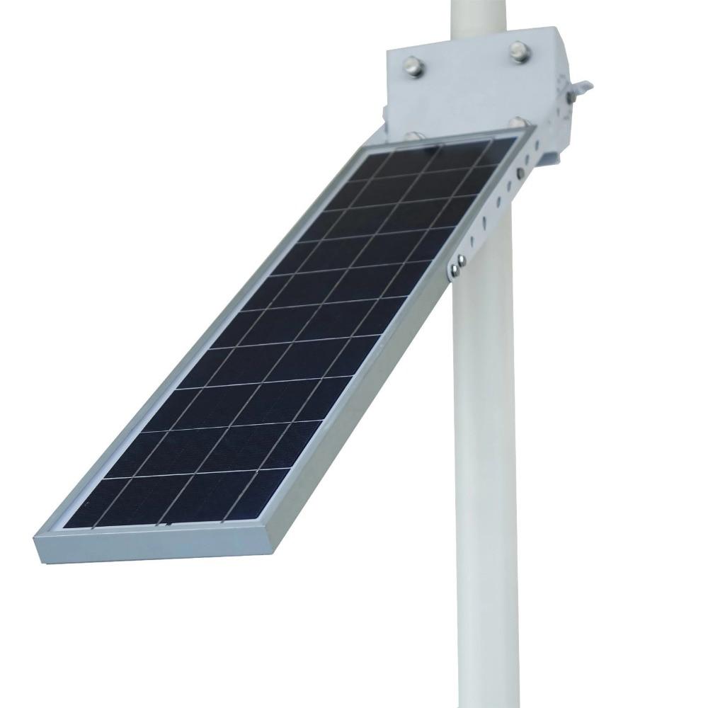 Alpha 2020X Outdoor Waterproof Motion Sensor Solar Powered LED Pole Wall Street Path Light For Garden 3 Working Modes - 3