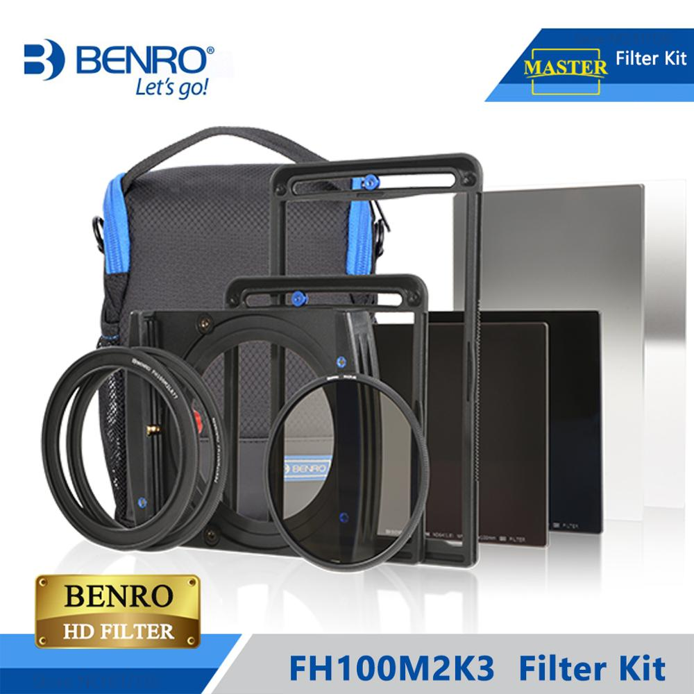 Benro FH100M2K3 100mm Filter Kit System ND/GND/CPL Filter Hold Support For More Than 16mm Wide Angel Lens DHL Free Shipping