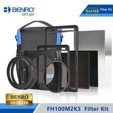 Benro FH100M2K3 Filtro di 100 millimetri Kit Sistema di ND/GND/CPL Filtro Tenere Il Supporto Per Più di 16 millimetri ampio Angelo Lens DHL LIBERA il Trasporto