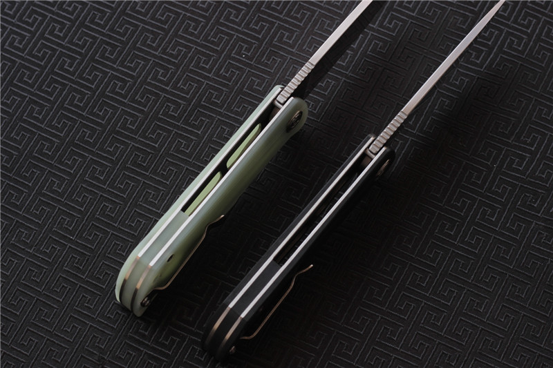 Image 4 - CH CH3001 G10 Flipper Folding Knife D2 blade Ball Bearing G10+steel Hhandle Camping Hunting Outdoor Pocket Knives EDC tools-in Knives from Tools