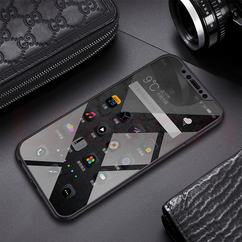 360 Degree Full Cover Cases With Tempered Glass
