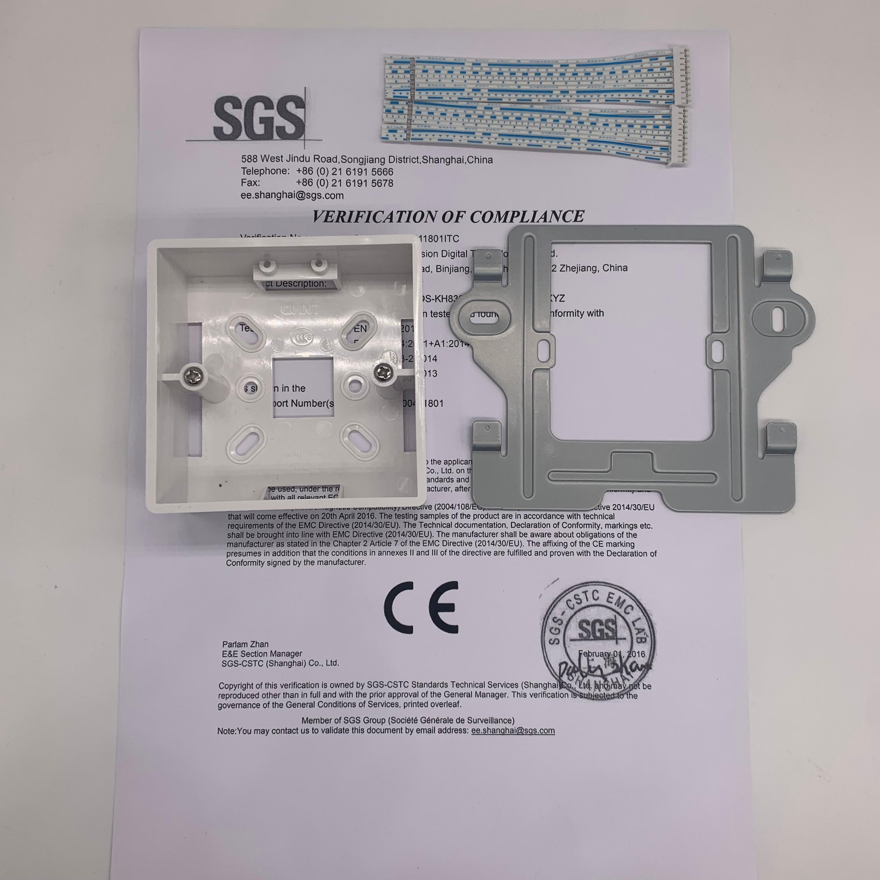 HIK Çok dilli DS-KH8501-WT 10-inç Dokunmatik Kapalı Monitör, IP - Güvenlik ve Koruma - Fotoğraf 6