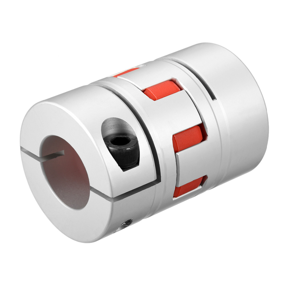 UXCELL New Arrival 1PCS L78xD55 Servo Stepped Motor M8 28 to 28mm Shaft Coupling Bore Flexible Coupler Joint Wear Resistant uxcell hot sale 1pcs l55xd40 servo stepped motor m6 12mm to 19mm shaft coupling bore flexible coupler joint wear resistant