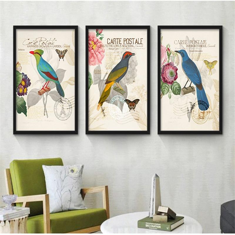 Decoration Carte Postale.Carte Postale Delizioso Gorgeous Parrot With Bright Feather