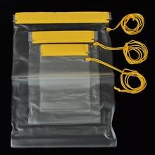 ISKYBOB Лот 3 шт подводный водонепроницаемый мешок сухой Чехол для мобильного смартфона