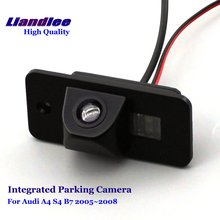 Liandlee Car Rear View Backup Parking Camera For Audi A4 S4 B7 2005~2008 Rearview Reverse Camera / Integrated SONY HD CCD liandlee for audi rs6 2008 2009 car rear view backup parking camera rearview reverse camera sony ccd hd integrated nigh vision