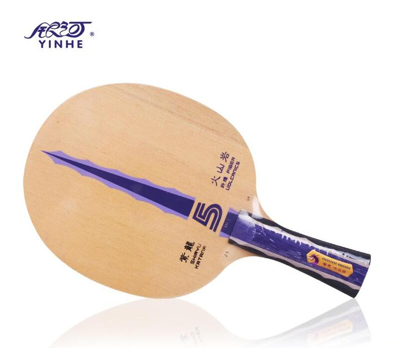 ФОТО Yinhe Shiryu Katana Z5.VF Volcanics Fiber Table Tennis Blade for Ping Pong Racket