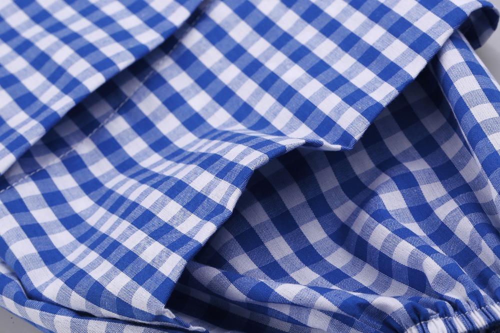 HTB1TemzPVXXXXX0XpXXq6xXFXXXT - V-Neck Lantern Sleeve Blue Women Blouses Shirts JKP160