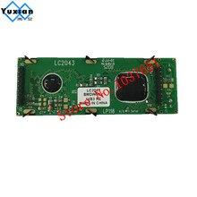 1 cái mini kích thước nhỏ 20x4 204 2004 lcd hiển thị module màu xanh lcd module nhà máy 75*26.8 mét MỚI và ban đầu LC2043