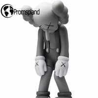 1pc/lot New Arrived Originalfake Kaws Small Lie Kaws Action Figures Long Nose Fancy Toys for Kids Birthday Gifts Retail Box 28cm