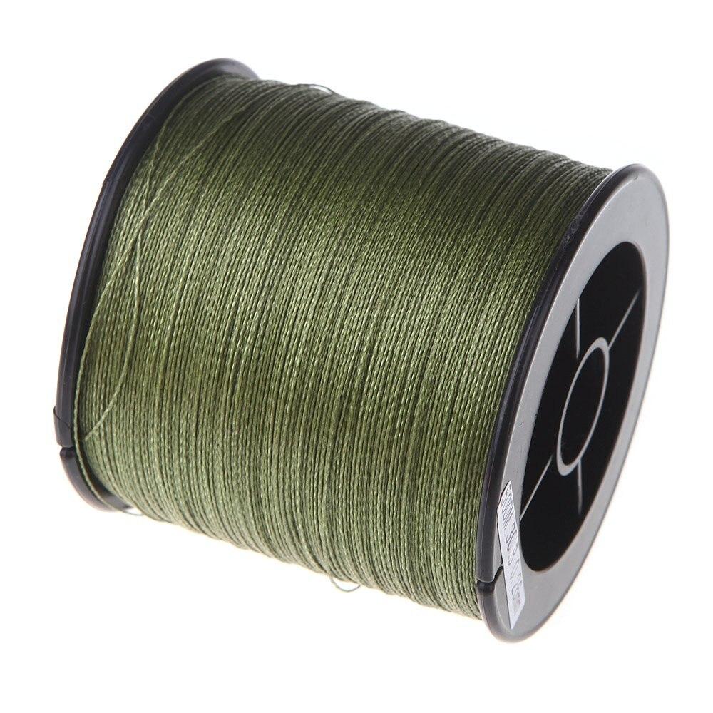 500 м 30 фунтов 0,26 мм лески прочность PE плетеный 4 пряди ...