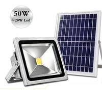 solar flood light 50 W brightness floodlight energy saving lighting stalls lights lawn lamp multi purpose lamp Smart lights