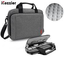 Icozzier 노트북 가방 15.6 13.3 인치 방수 노트북 가방 mackbook 에어 프로 13 15 노트북 숄더 핸드백 13 14 15 인치