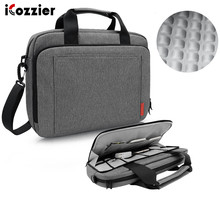 цены iCozzier Laptop Bag 15.6 13.3 inch Waterproof Notebook Bag for Mackbook Air Pro 13 15  Laptop Shoulder Handbag 13 14 15 inch