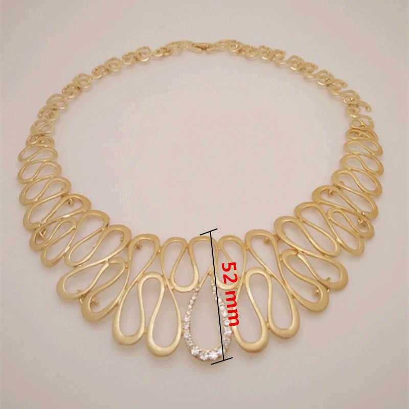 Königreich Ma Neue dubai Große Halsband nigerian hochzeit perlen schmuck-set Runde Neckace für Frauen Party afrikanischen kostüm Schmuck sets