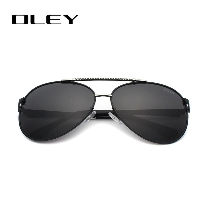 OLEY Hochwertige Polarisierte Sonnenbrille Männer Markendesigner - Bekleidungszubehör - Foto 4