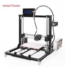 Pantalla LCD kit de impresora 3d diy, i3 impresora 3d de alta Precisión con una cinta adhesiva rollo de filamento 8 GB tarjeta SD de Forma Gratuita