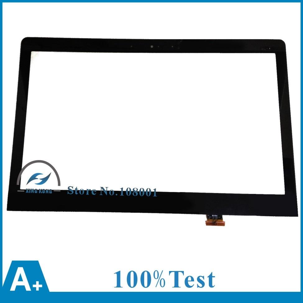 "Laptop 13.3"" For Samsung NP740U3E 730U3E Touch LCD Screen Panel Glass Sensor+Digitizer Repair Replacement parts MCF-133-0802-V2"